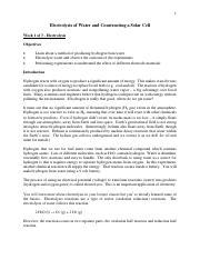 Beer's Law Froot Loops Procedure pdf - A Beers Law