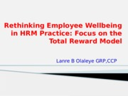 TOWN_GOWN Rethinking Employee Wellbeing