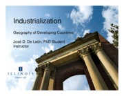 L14 - Industrialization