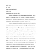 compare and contrast buddhism and islam compare and contrast  4 pages buddhism and islam final exam essay