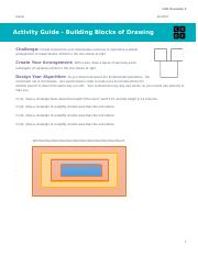 U3L01 Activity Guide - Building Blocks of Drawing1379840.docx