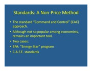 Standards Energy Star and CAFE Part 1