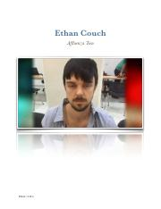 an analysis of affluenza in the case of ethan couch Affluenza teen ethan couch has been  according to a usa today analysis of the  received no prison time in the initial manslaughter case after the affluenza.