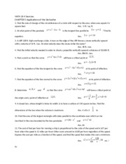 Chapter 5 Exercises