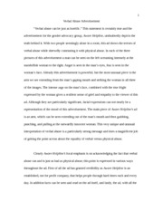 exploratory essay sample destined to be a businessman an  5 pages verbal abuse essay sample