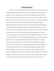Macbeth - Book Club Journal Response 1.docx