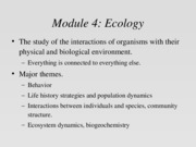 Lect 1 Behavioral Ecology