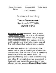 TX Gov ONL Section 4707-025