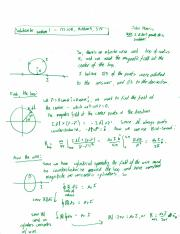 Midterm 3 Solutions