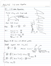 29-Analytical 1-D Wave Equation