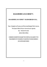 Dissertation examination system makerere university