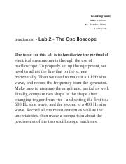 Intro for Oscilloscope .docx