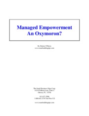 managed_empowerment