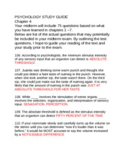 study guide chapter 4