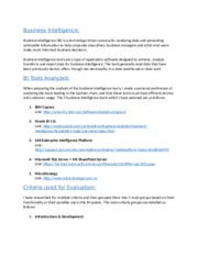 Business Intelligence Tools.docx