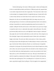 Short Essay for Anthro.rtf