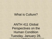 AAAAA1.28 What is culture