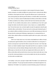 Reflection Essay 1