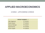 Group-1 Applied Macro