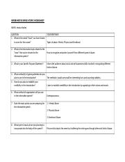 informative speech worksheet