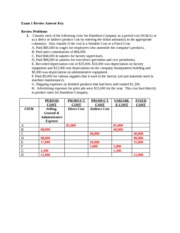 BACC222 Exam 1 Review Answer Key(1)