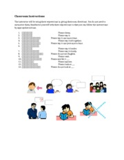 Classroom Instructions and Expressions