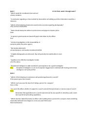 Quiz 1-7 and test questions CJ 311.docx