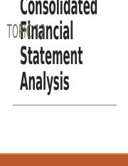 132362_Consolidated Financial Statement Analysis.pptx