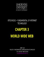 Chapter 3 World Wide Web.ppt