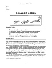 Lab Changing Motion