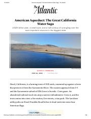 Optional Reading American Aqueduct_ The Great California Water Saga - The Atlantic.pdf