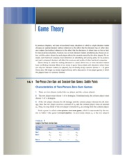 14 Game Theory