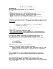 Study Guide to 2306 Unit Two.docx
