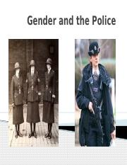 BB Gender and the Police 16-17