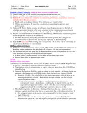 Contracts II - Class Notes