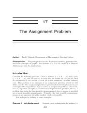 A17 - The Assignment Problem.pdf
