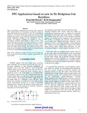 Applications PFC Applicationsbased on new Ac based on new Ac based on new Ac-Dc Bridgeless Cuk Bridg