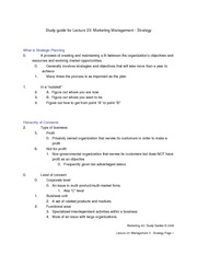 Study_Guide_for_Lecture_23_-_Management_II_-_strategy
