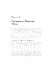 Chapter 04 - Extensions of Consumer Theory