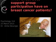 March 25 2015 cancer support groups