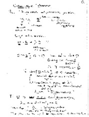 notes on eigenvalue problems