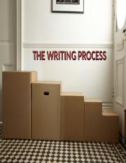 The writing process 3