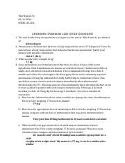 ANTIBIOTIC OVERDOSE CASE QUESTIONS.docx