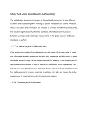 Study of Anthropology Paper