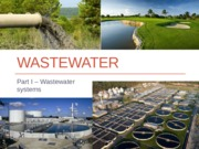 Lecture 8a - Wastewater Part I