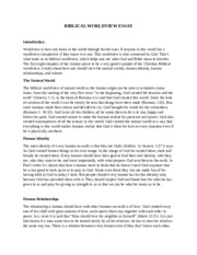 worldview paper bibl 425 View essay - bibl425_worldview_paper_instructions from bibl 425 at liberty university systematic theology and does not contain all the essential truths that are relevant to a worldview per se,.