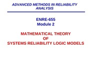 3- ENRE_655_Spring 2014-MODULE 2-Math of Systems Logic