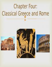 Lecture 5 - Classical Greece and Rome.ppt