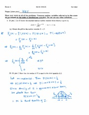 Math 502AB Test 1 Solutions