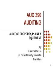 TOPIC 12 - AUDIT OF PROPERTY PLANT N EQUIP (1).ppt